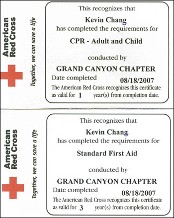 First aid certification : September 2018 Wholesale